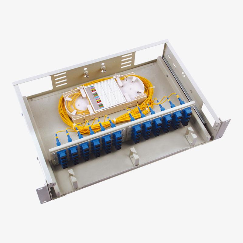 Fiber Optic Patch Panel drawer with Sliding rail