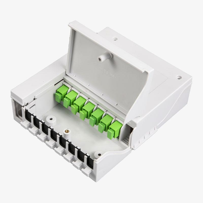 FTTH Indoor 8Fibers splicing box OF-02013