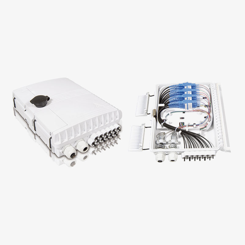 Access Terminal Box with 2 Input Ports OF-03001-12B