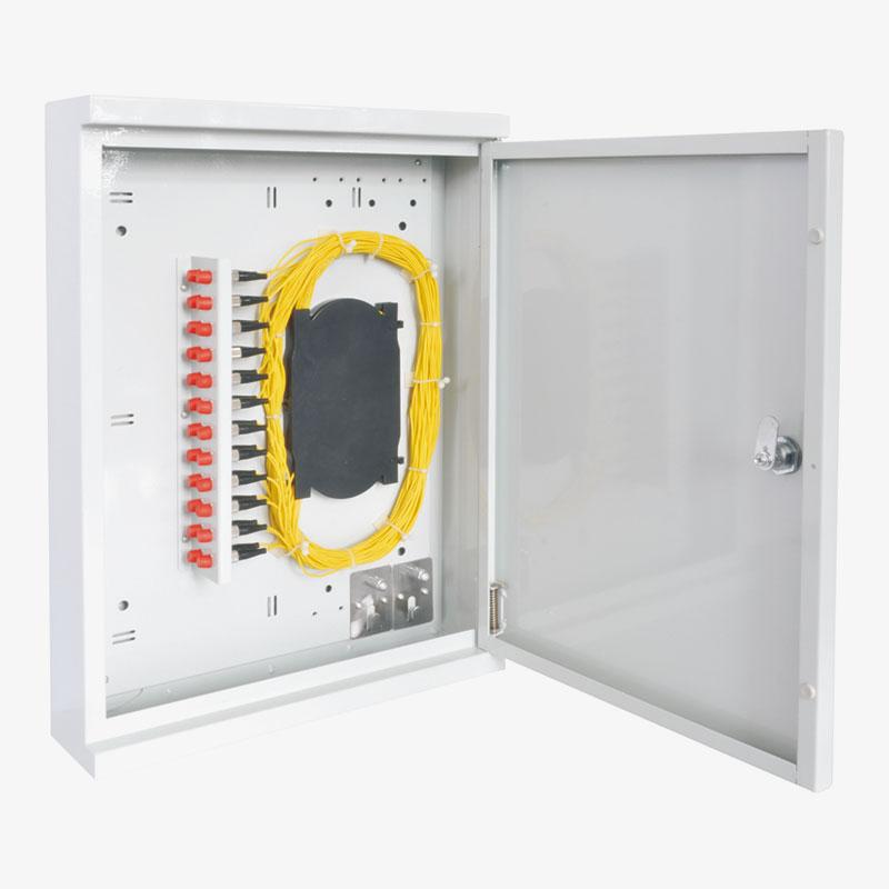 Outdoor 24 Fibers Wall Mounting PON Box
